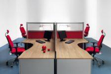 Mobili Per Ufficio Della Rovere : Arredo ufficio centro copie fondi