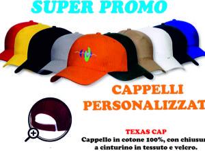 cappelli personalizzati offerta