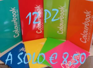 quaderni colorbook promozione per tutti i tipi di suola